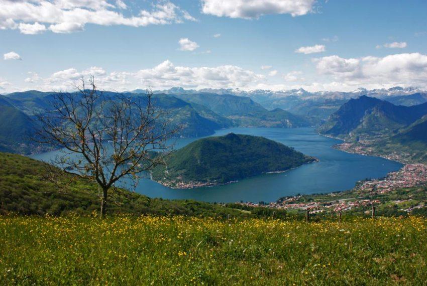 Lago d'Iseo Monte Isola