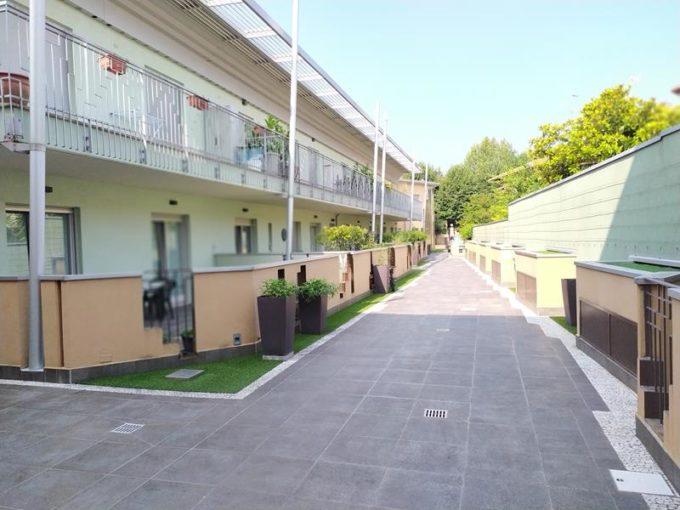 appartamento bilocale a romano di lombardia