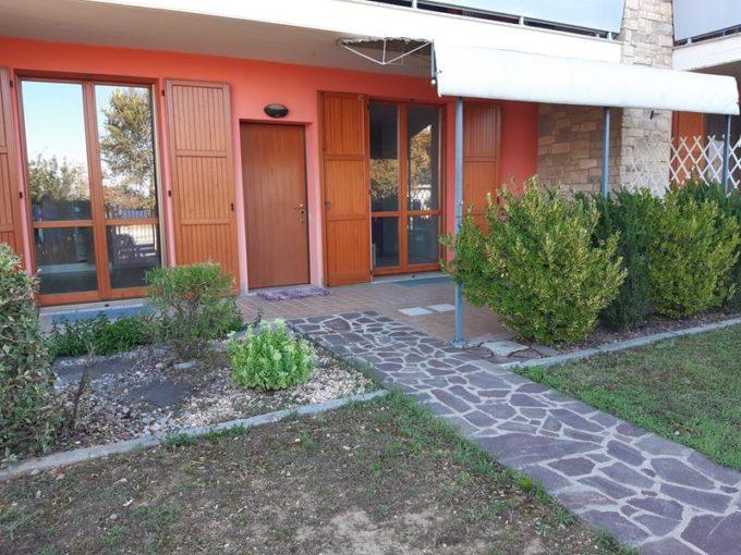 appartamento in villa ghisalba