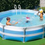 piscina gonfiabile condominio